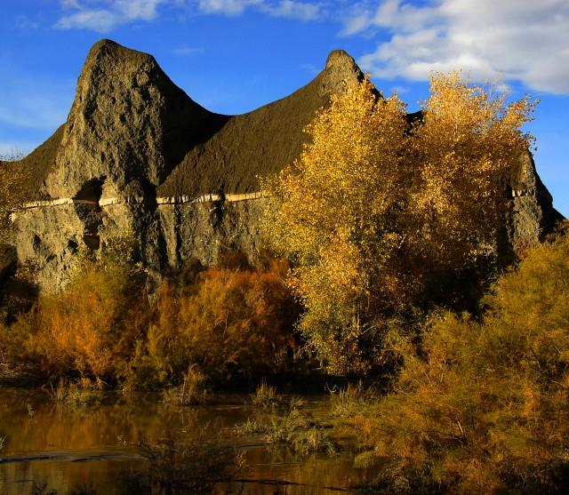 Aspen | Sky | Rock