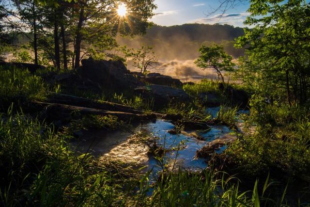 Great Falls National Park VA   Flood Stage   #1